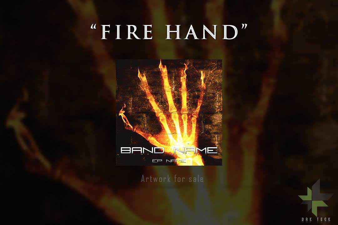 "ARTWORK - ""The Fire Hand"""